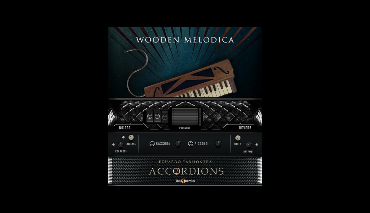 Single Wooden Melodica GUI