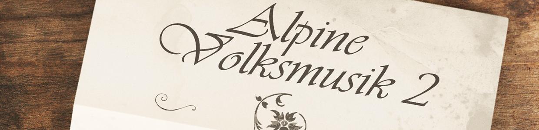 Alpine Volksmusik 2 Header