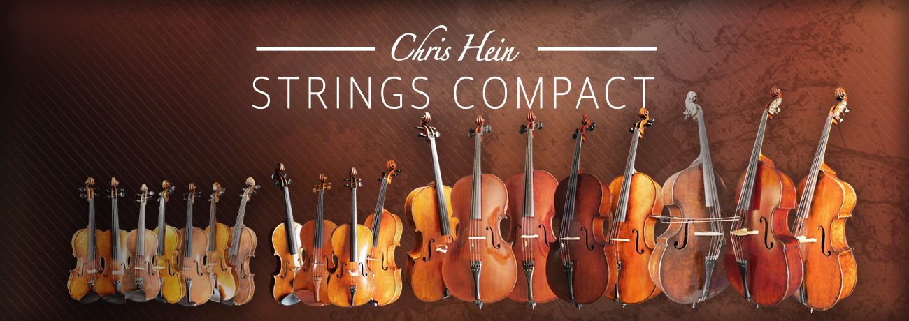 Chris Hein Compact Strings Banner