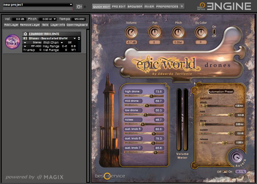 Epic World GUI
