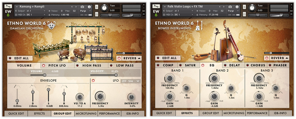 Ethno Instruments GUI