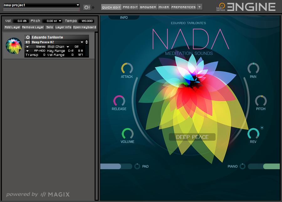 NADA Engine GUI