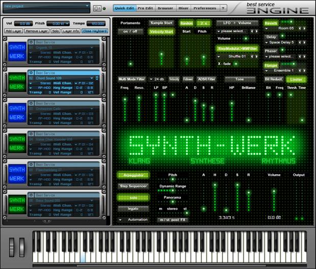 SynthWerk GUI