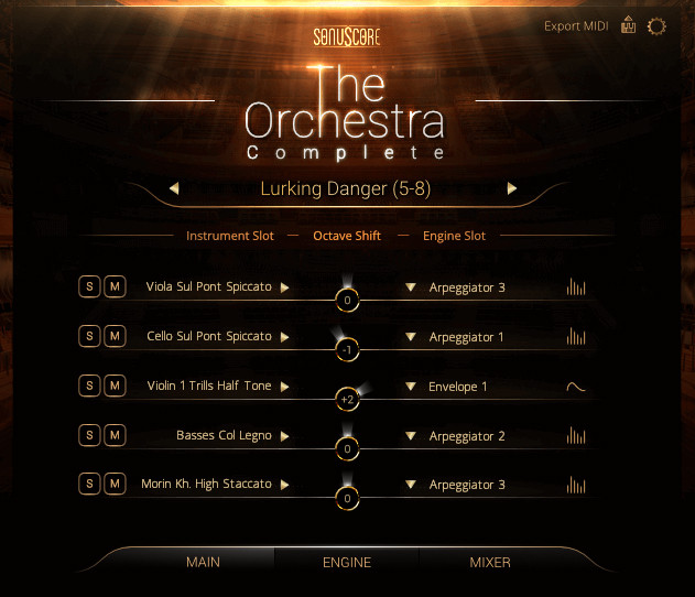 Orchestra Complete New GUI