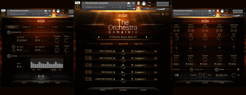 The Orchestra Complete GUI Banner
