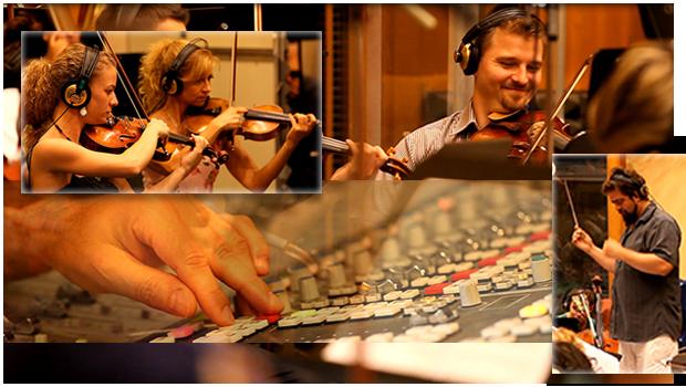 recording collage