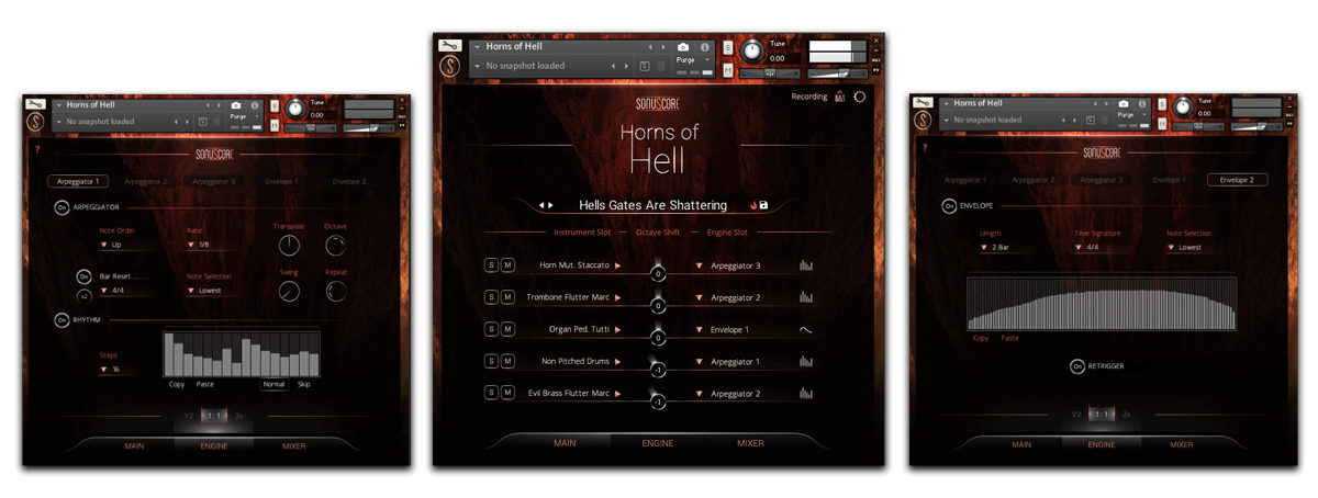 Horns Of Hell GUI banner