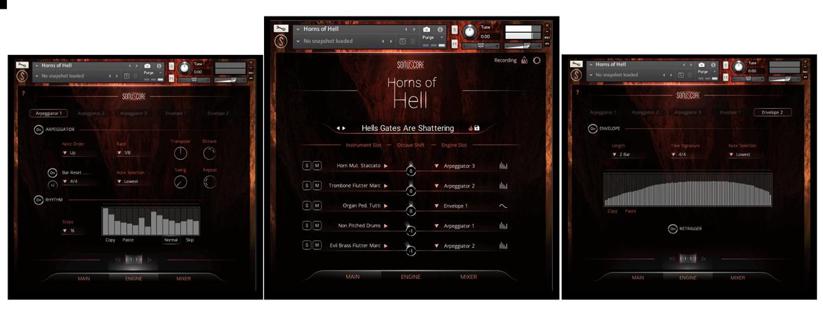 Horns Of Hell GUI Banner
