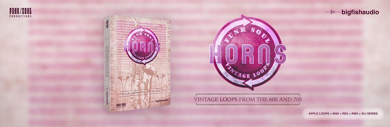 Funk Soul Vintage Horns Header