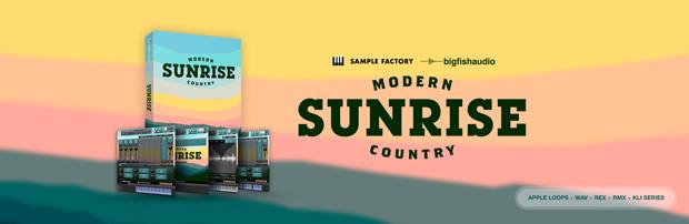 Sunrise Modern Country Header
