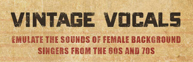 Vintage Vocals Header