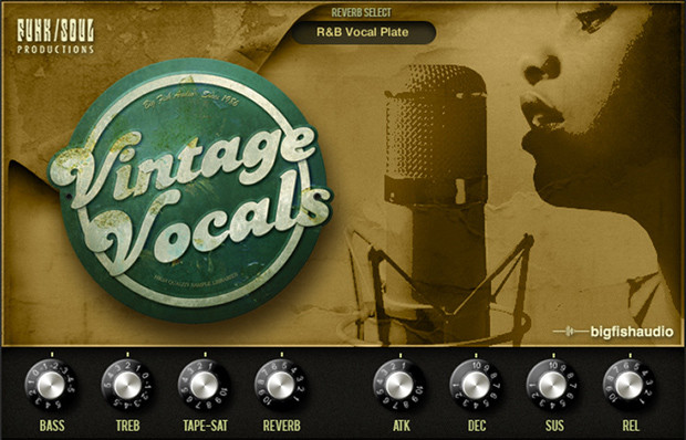 Vintage Vocal GUI Screen