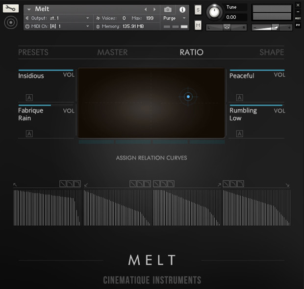 Melt UI Screen Three