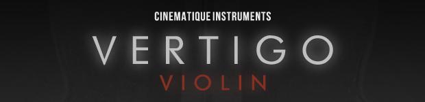 Vertigo Violin Main Header