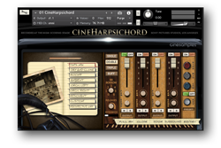 cineharpsichord interface