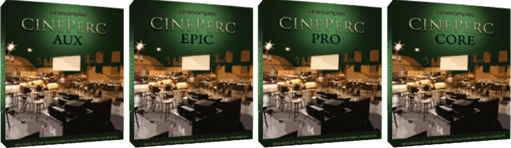 CinePerc Packs