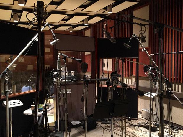 Hollywood Backup Singers Recording