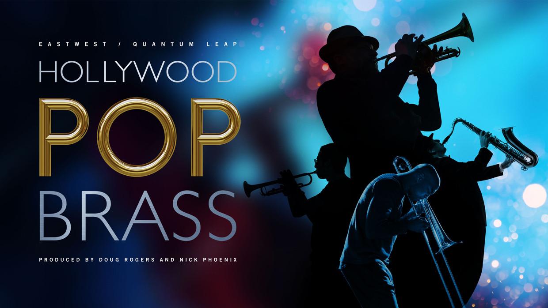 Hollywood Pop Brass Banner