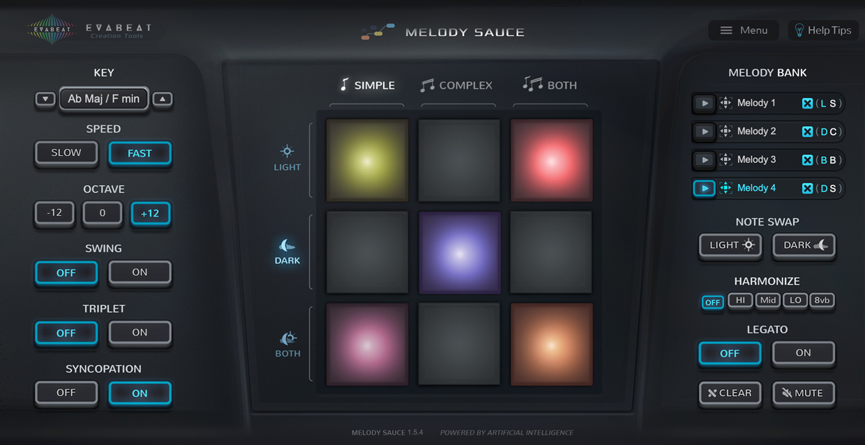 Melody Sauce GUI