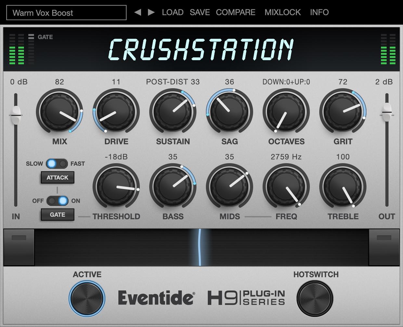 CrushStation GUI