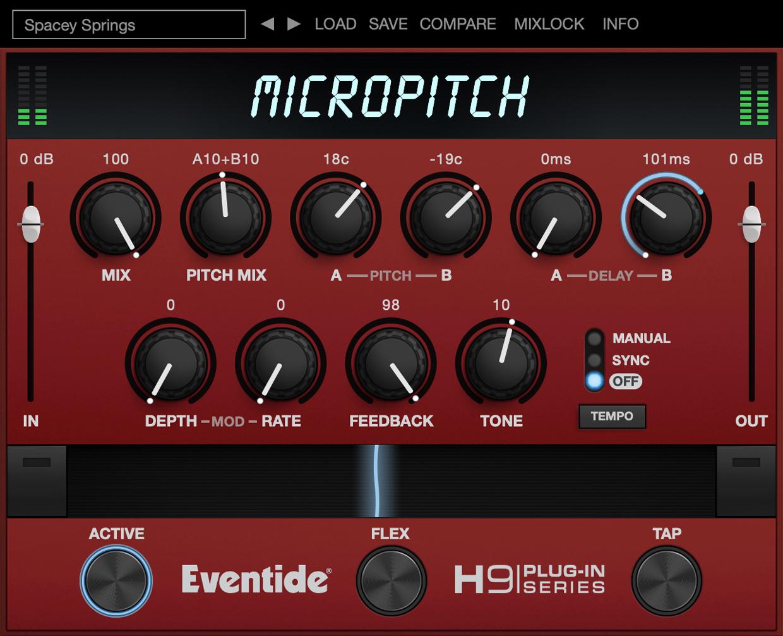 MicorPitch GUI