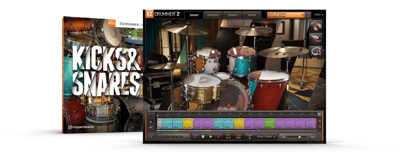 Kicks & Snares EZX Box and GUI