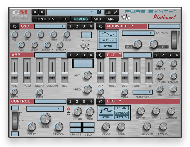 Pure Synth Platinum 2 GUI