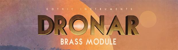 Dronar Brass Header