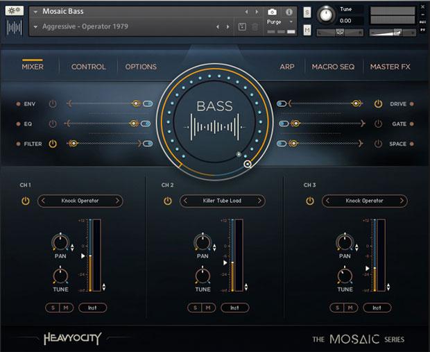 Mosaic Bass GUI
