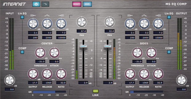 MS EQ COMP GUI