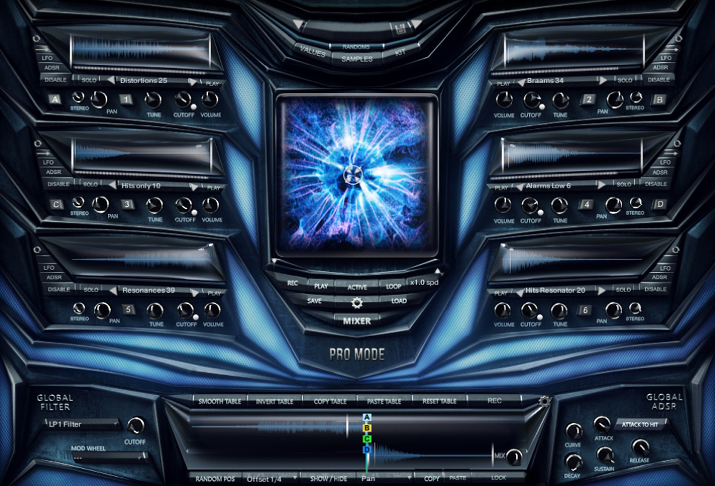Cyberpunk GUI