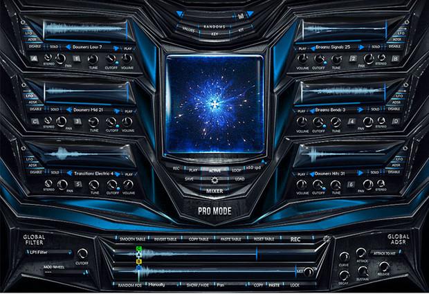 AizerX sFX GUI Screen