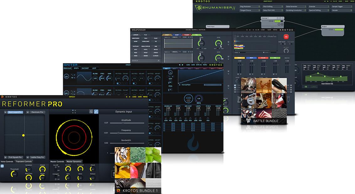SoundDesignBundle2 GUI