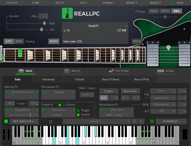 Real LPC 5 GUI