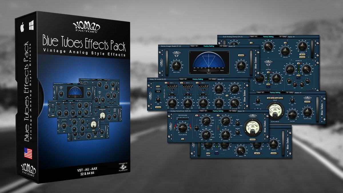 Blue Tubes Effects Pack Banner