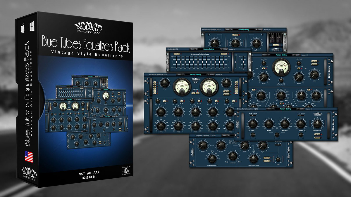 Blue Tubes Equalizers Pack Banner
