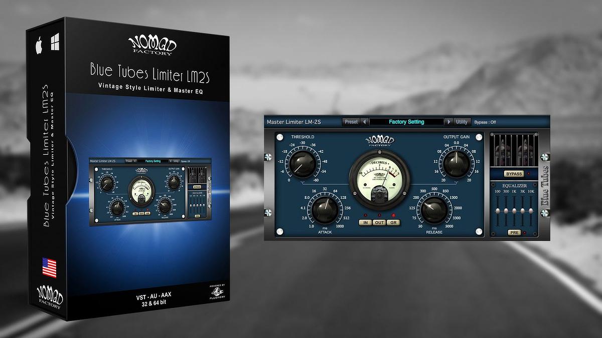 Blue Tubes Limiter LM2S Banner