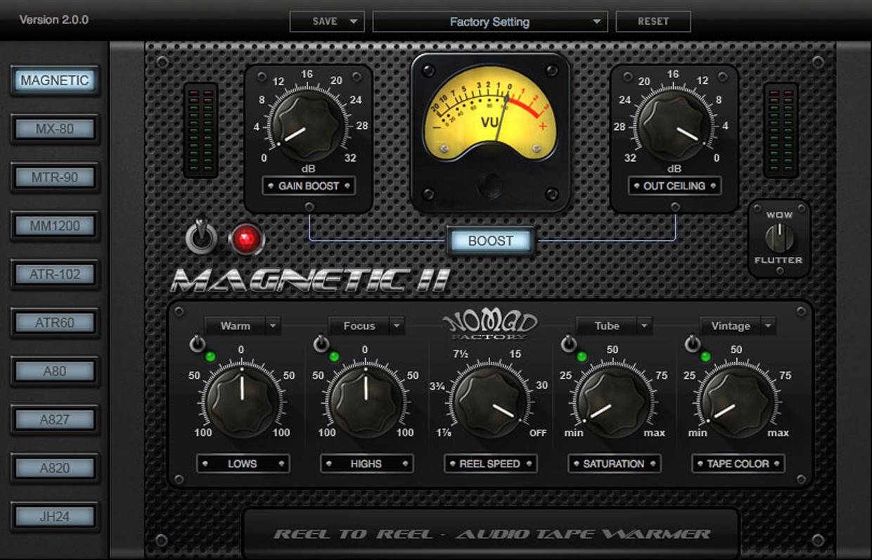 Magnetic GUI