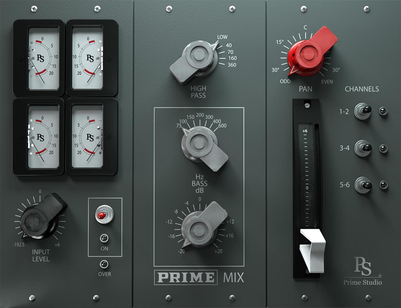 PrimeMIX GUI