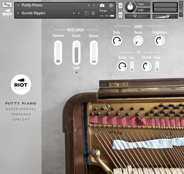 Putty Piano GUI