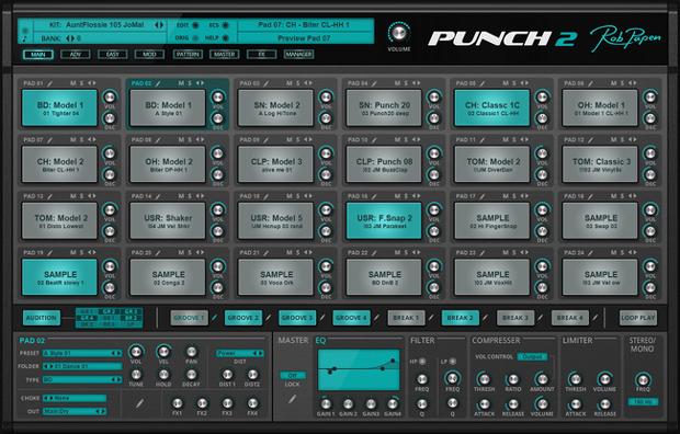 Punch 2 GUI Screen