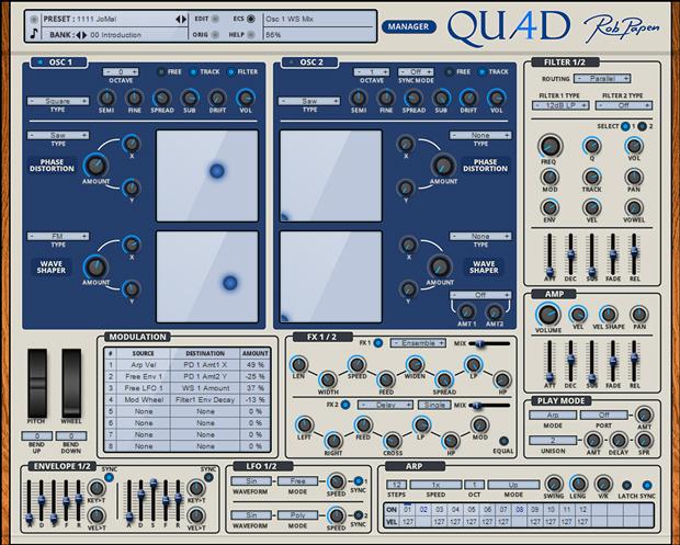 Quad GUI