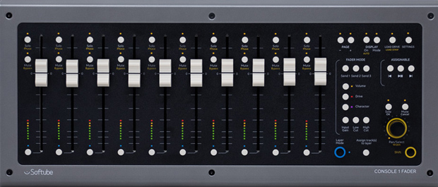 Console 1 Fader Front Panel