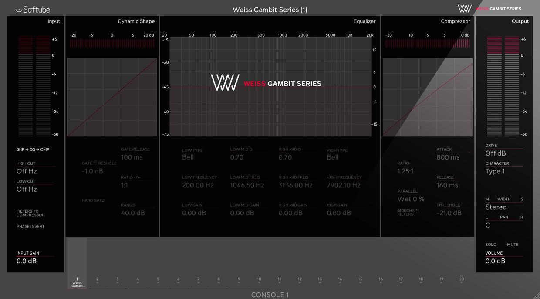 Weiss Gambit UI