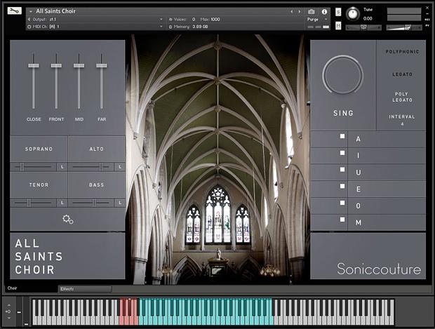 All Saints Choir Main GUI