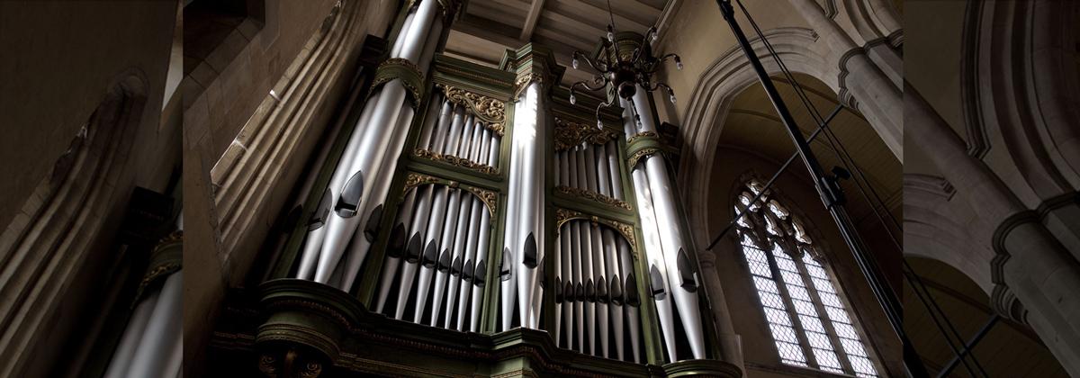 All Saints Organ Header