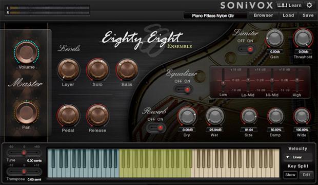 Eighty Eight Ensemble GUI