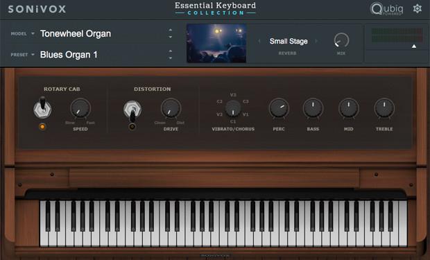 Essential Keyboard Collection Tonewheel Organ