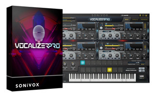 Vocalizer Pro Box and GUI Image