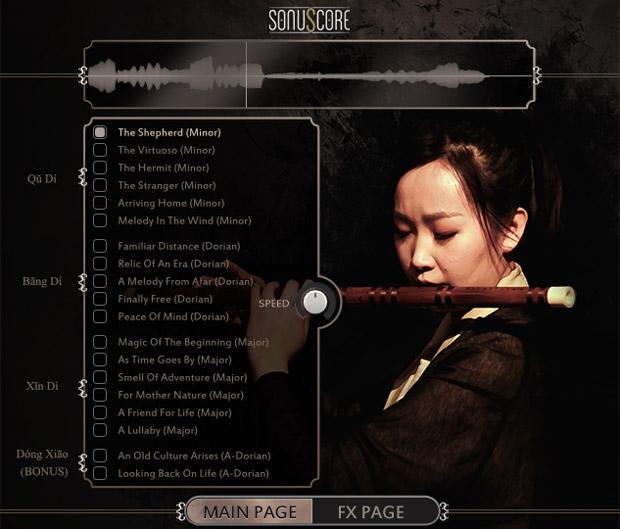 Ethnic Flute GUI